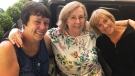 Sisters finally meet long-lost sibling after 66 ye