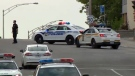 Laval police and the Sureté du Quebec blocked traffic near Highway 440 and Des Laurentides Blvd. because of an armed man.