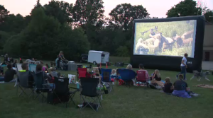 Complete K-9 Inc's Movie in the Park event.
