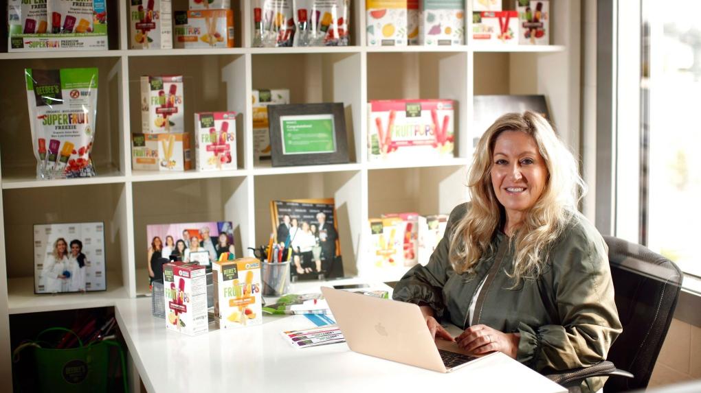 DeeBee Organics owner Dionne Laslo-Baker