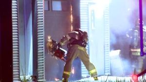 Fire in Mont Saint Hilaire garage | CTV News