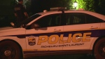 Richelieu Saint Laurent police arrested a man overnight after getting a 9-1-1 call about a firearm