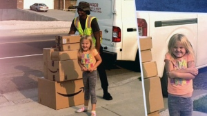 Girl orders $350 worth of toys on Amazon