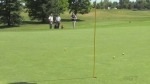 Improving short game: chipping onto the green