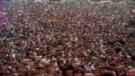 An estimated 600,000 people attended Woodstock in 1969.