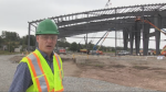 """""""It's like building your house,"""" said Bill MacMackin, the president of the Greater Saint John Field House. """"It goes up fast; the interior doesn't happen quite as quick."""""""