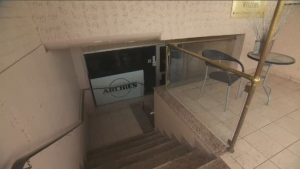 In a complaint filed to the Regie des Alcohols, the center said the bar - Archie's - is targeting a vulnerable Inuit clientele and its permit should be refused. (CTV Montreal)
