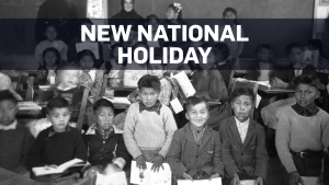 New national holiday to mark residential schools
