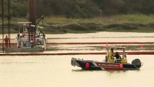 Major effort to raise sunken tug in Fraser River