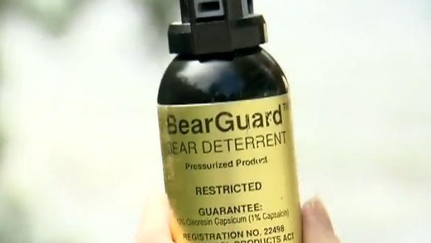 Bear spray sales spike in Manitoba