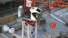 Crane rescue operation underway in Toronto