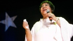Aretha Franklin performs at the McDonald's Gospelfest 2005 in New York, June 4, 2005. (AP Photo/Diane Bondareff)