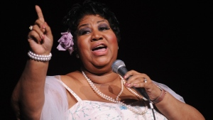 Aretha Franklin performs at Radio City Music Hall in New York, Friday, March 21, 2008. The concert was the first of two sold-out shows. (AP Photo/Henny Ray Abrams)