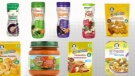Heavy metal traces found in baby food
