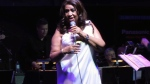 Aretha performs at Toronto Jazz Festival in 2011