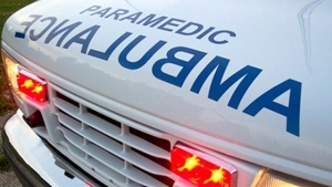 A pedestrian is in hospital with life-threatening injuries after being struck by vehicle on Tuesday.