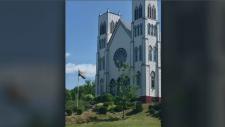church pride flag