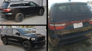 RCMP have released more photos of the vehicle driven by the German tourist who was shot on August 2, 2018. (Supplied)
