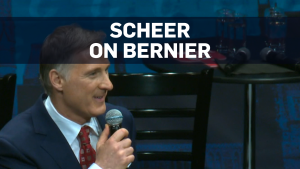Scheer cautions Bernier over tweets