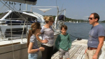 The family took a 15,000-nautical-mile sailing trip to 17 countries to get more family time. (CTV)