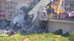 bridge collapse Italy