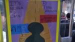 Calgary Transit art - mental health