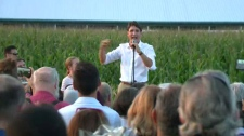 Trudeau heckled
