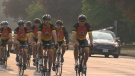 Islanders crossing the straight to conquer cancer