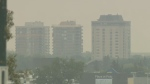Air quality warning, bridge collapse: Morning Live