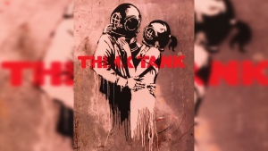 Was Banksy inspired by this Canadian cartoonist?