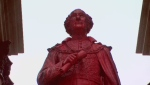 John A Macdonald statue vandalized