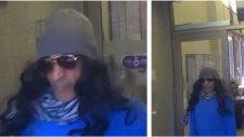 Halifax police are looking for the public's help in identifying this man, who is the suspect in a bank robbery on Thursday.