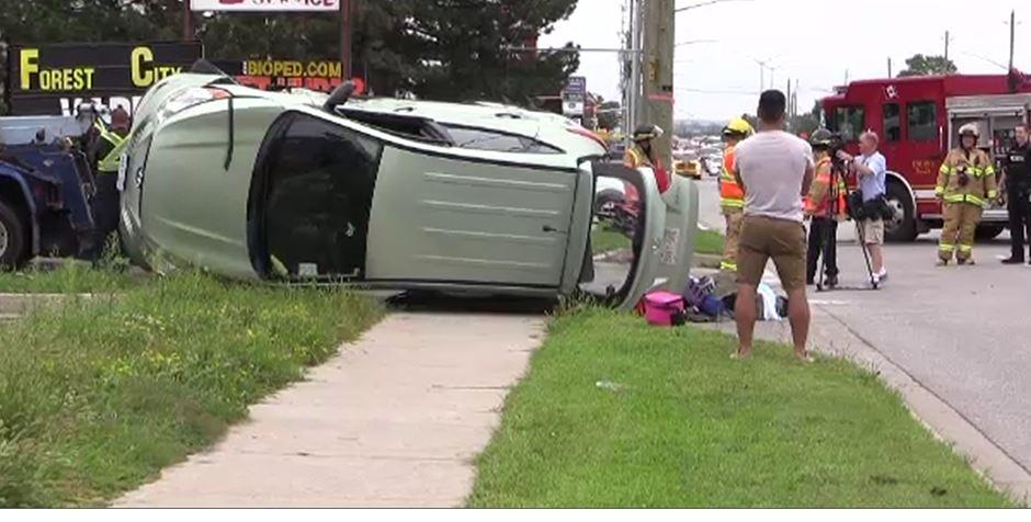 Wellington Road crash
