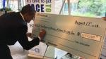 Local philanthropist Al Quesnel donates $1-million to Hospice of Windsor and Essex County. ( Bob Bellacicco / CTV Windsor )