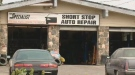 Short Stop Auto Repair is shown on Aug. 17, 2018