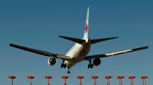 Air Canada is seeking finance ministry approval to form its own life insurance company as a gateway to the annuities market and a hedge against looming pension payouts. (Andrew Vaughan/ The Canadian Press)