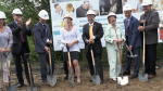 North Bay hospice's ground breaking ceremony