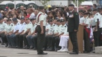 Close to 16-hundred cadets packed Base Borden on Thursday evening for their graduation.