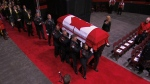 Funeral underway in Fredericton