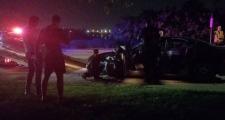 Windsor police investigate hit-and-run crash on Saturday, Aug. 18, 2018. (Emily Sadowski / Facebook)