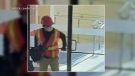Man wanted for CIBC robbery in Waterloo.