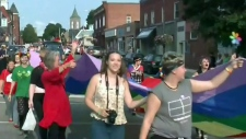 Smiths Falls first pride parade