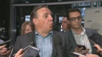 Francois Legault, leader of the CAQ