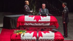 CTV National News: Regimental funeral for officers