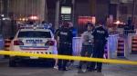 One man is dead following a shooting in Toronto's Corktown neighbourhood. (John Hanley / CP24)