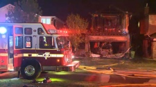 The Calgary Fire Department worked quickly to extinguish a fire that started inside a home in Bridlewood at about 11:00 p.m. on Saturday.