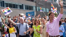 Trudeau at Montreal pride
