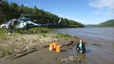Just as hundreds of blazes in British Columbia are darkening skies as far east as Manitoba, researchers are studying how blackened forests affect ecosystems and water quality far downstream.THE CANADIAN PRESS/HO-University of Waterloo, *MANDATORY CREDIT*