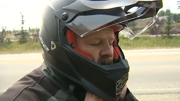 A passion for the road and serving his community has led Michael Terry, a veteran with the Canadian military on a motorcycle trip to raise awareness of PTSD.