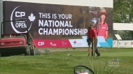 Looking toward the CP Canadian Womens Open